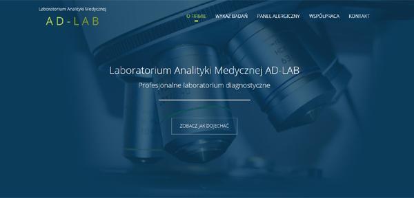 Realizacja - Laboratorium Analityki Medycznej AD-LAB