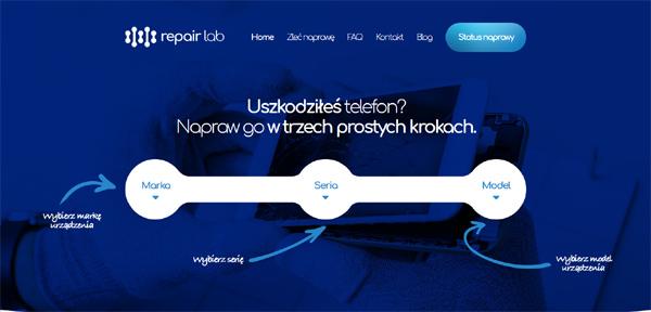 Realizacja - KJK S.C Jakub Kołaciński, Krzysztof Kapuściński strona naprawa telefonów
